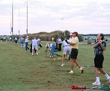 People on Golf Course - Golf Academy